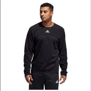 New Men's Adidas Team Issue Fleece Sweatshirt
